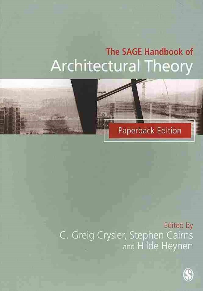 The SAGE Handbook of Architectural Theory