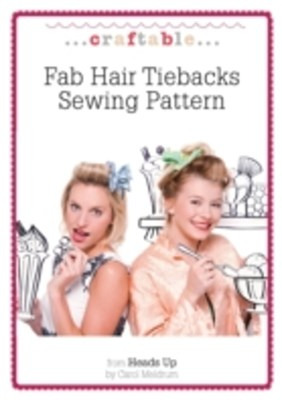 Fab Hair Tiebacks Sewing Pattern