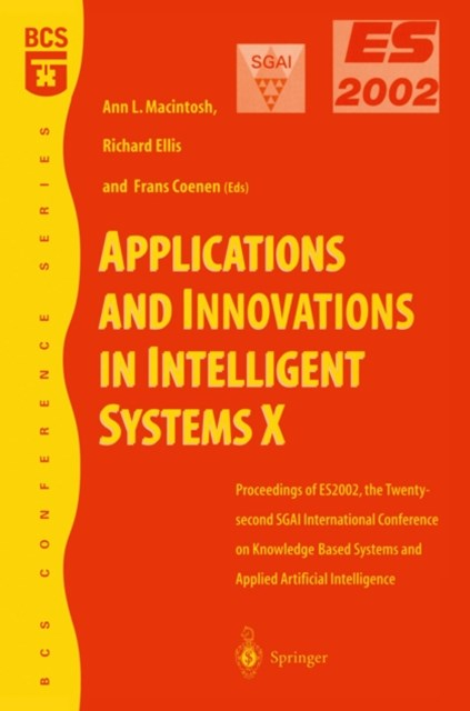 Applications and Innovations in Intelligent Systems X