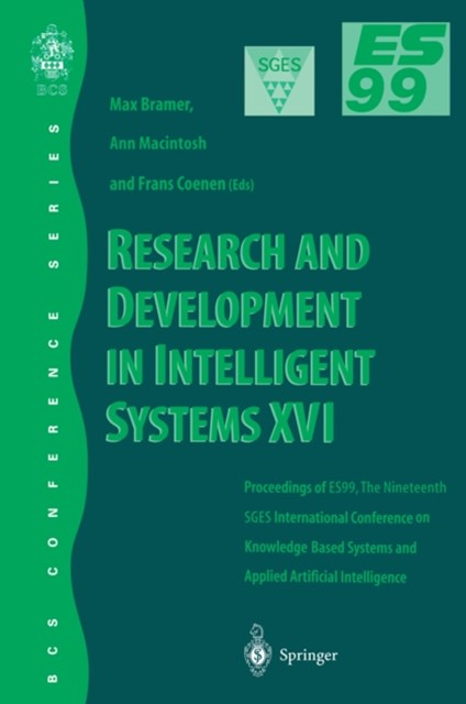 Research and Development in Intelligent Systems XVI