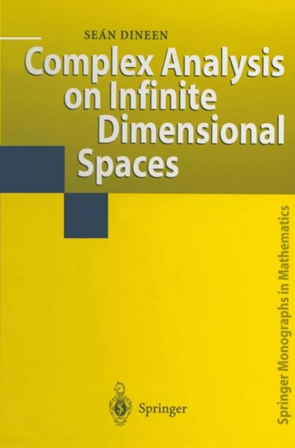 (ebook) Complex Analysis on Infinite Dimensional Spaces