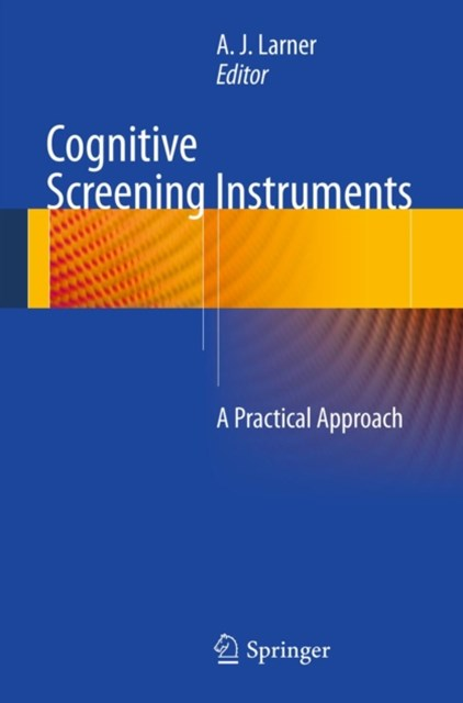 (ebook) Cognitive Screening Instruments