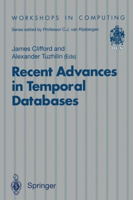 (ebook) Recent Advances in Temporal Databases