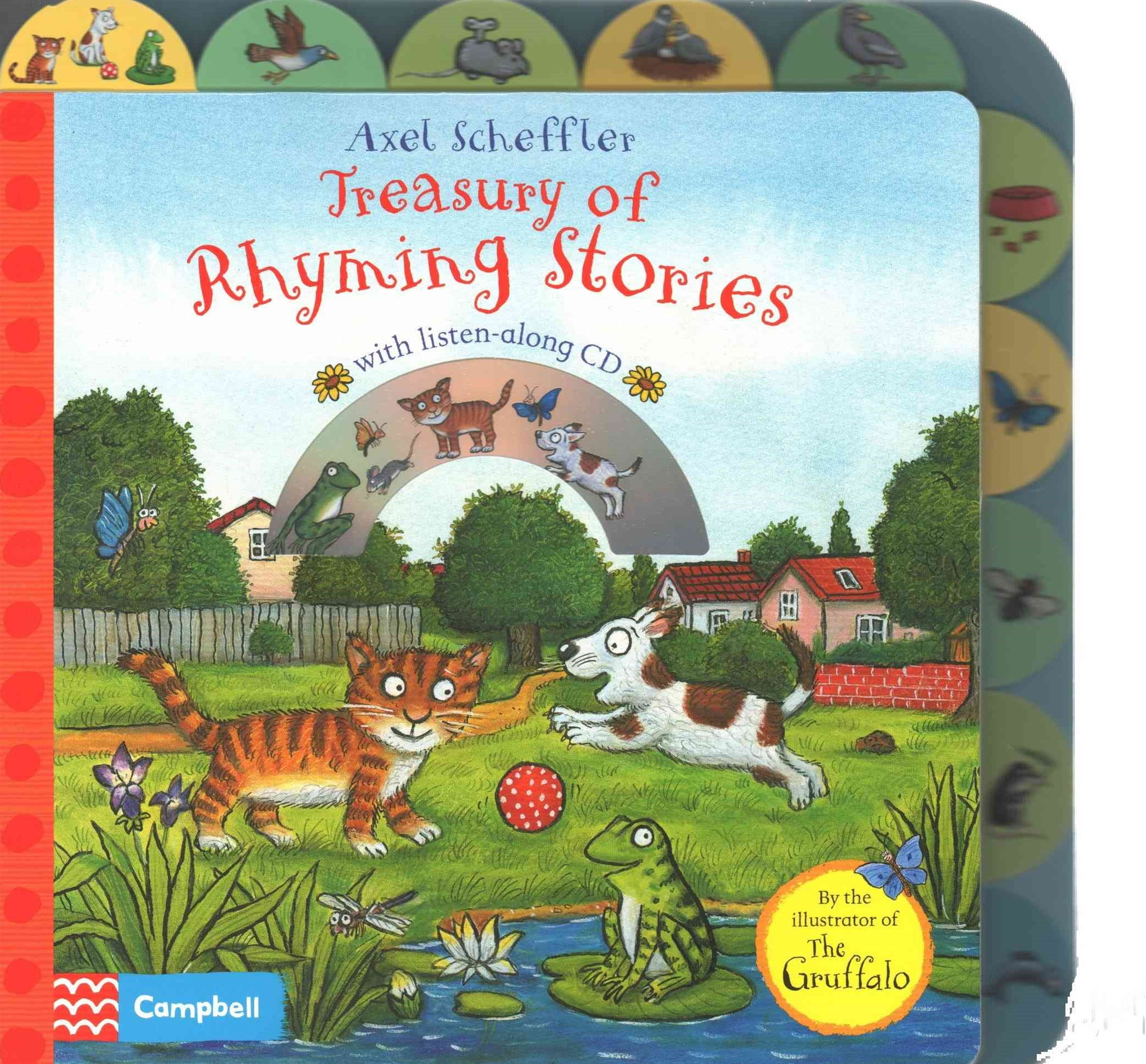 Axel Scheffler Treasury of Rhyming Stories