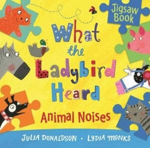 What the Ladybird Heard: Animal Noises Jigsaw Book