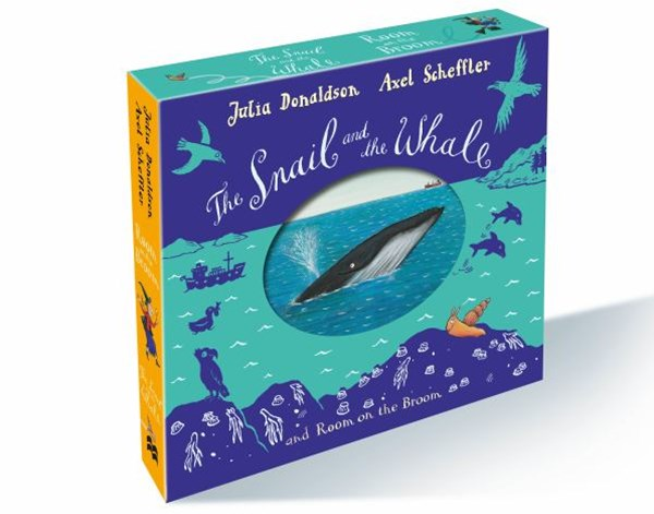 The Snail and the Whale and Room on the Broom Gift Slipcase