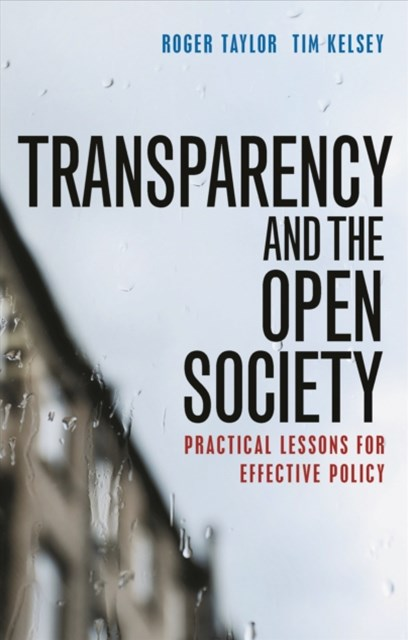 (ebook) Transparency and the open society