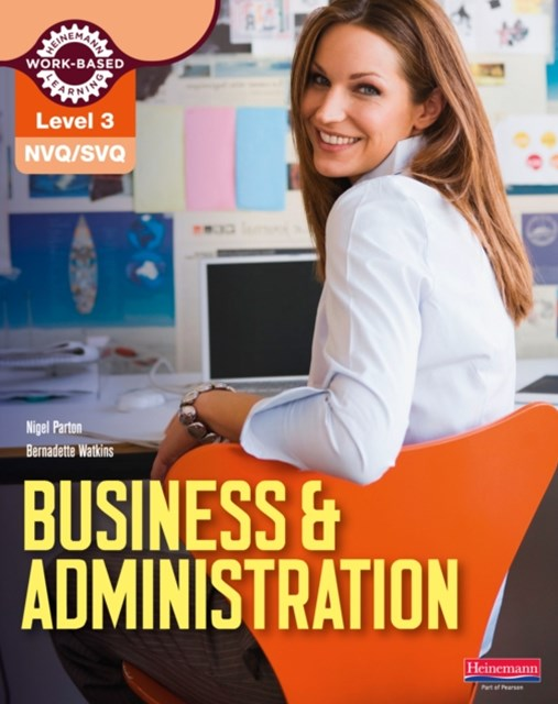 NVQ/SVQ Level 3 Business & Administration Candidate Handbook