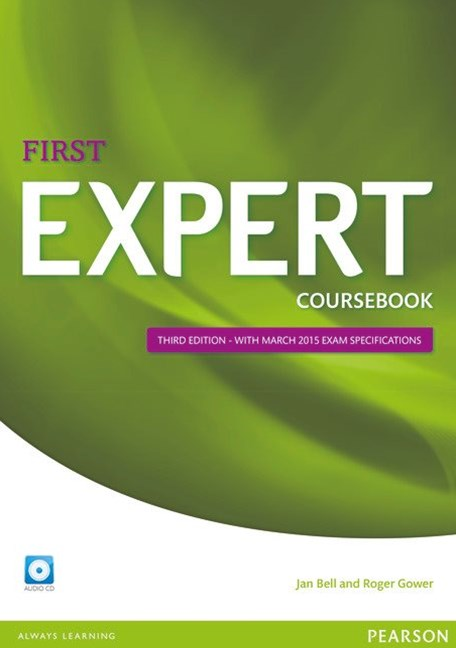 Expert First Coursebook with Audio CD
