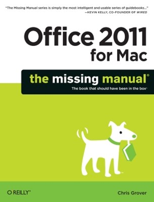 (ebook) Office 2011 for Macintosh: The Missing Manual