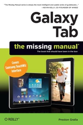 (ebook) Galaxy Tab: The Missing Manual