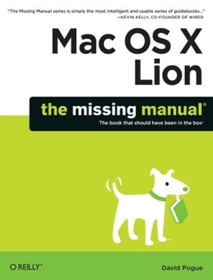 (ebook) Mac OS X Lion: The Missing Manual