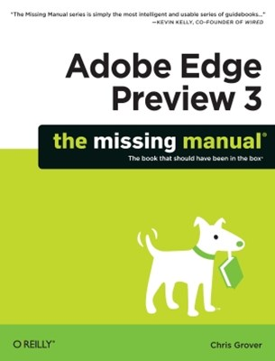 (ebook) Adobe Edge Preview 3: The Missing Manual