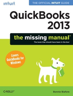 (ebook) QuickBooks 2013: The Missing Manual