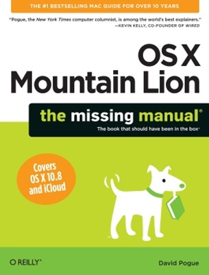 (ebook) OS X Mountain Lion: The Missing Manual