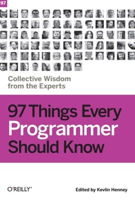 (ebook) 97 Things Every Programmer Should Know