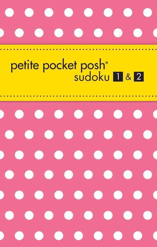 Petite Pocket Posh Sudoku 1 And 2