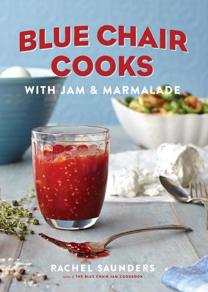 Blue Chair Cooks with Jam and Marmalade