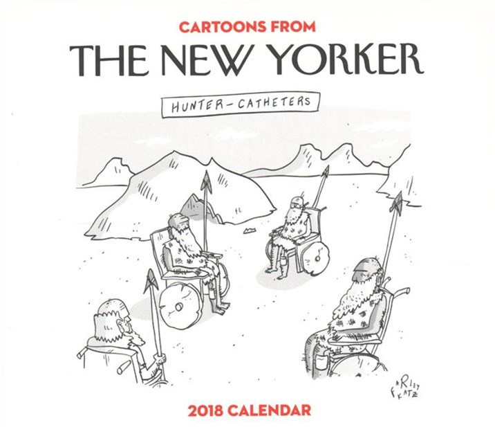 Cartoons from the New Yorker 2018 Calendar