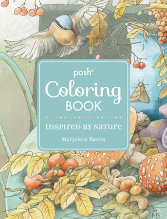 Posh Adult Coloring Book: Inspired by Na