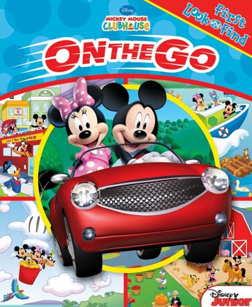 Mickey Mouse on the Go First Look and Find Book
