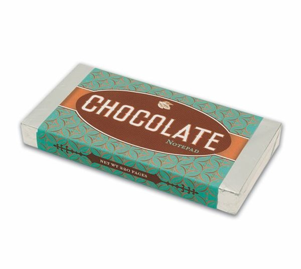 Chocolate Bar: Milk Chocolate Notepad