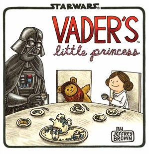 Vader's Little Princess by Jeffrey Brown (9781452118697) - HardCover - Humour General Humour