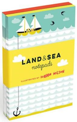 Land and Sea Notepads