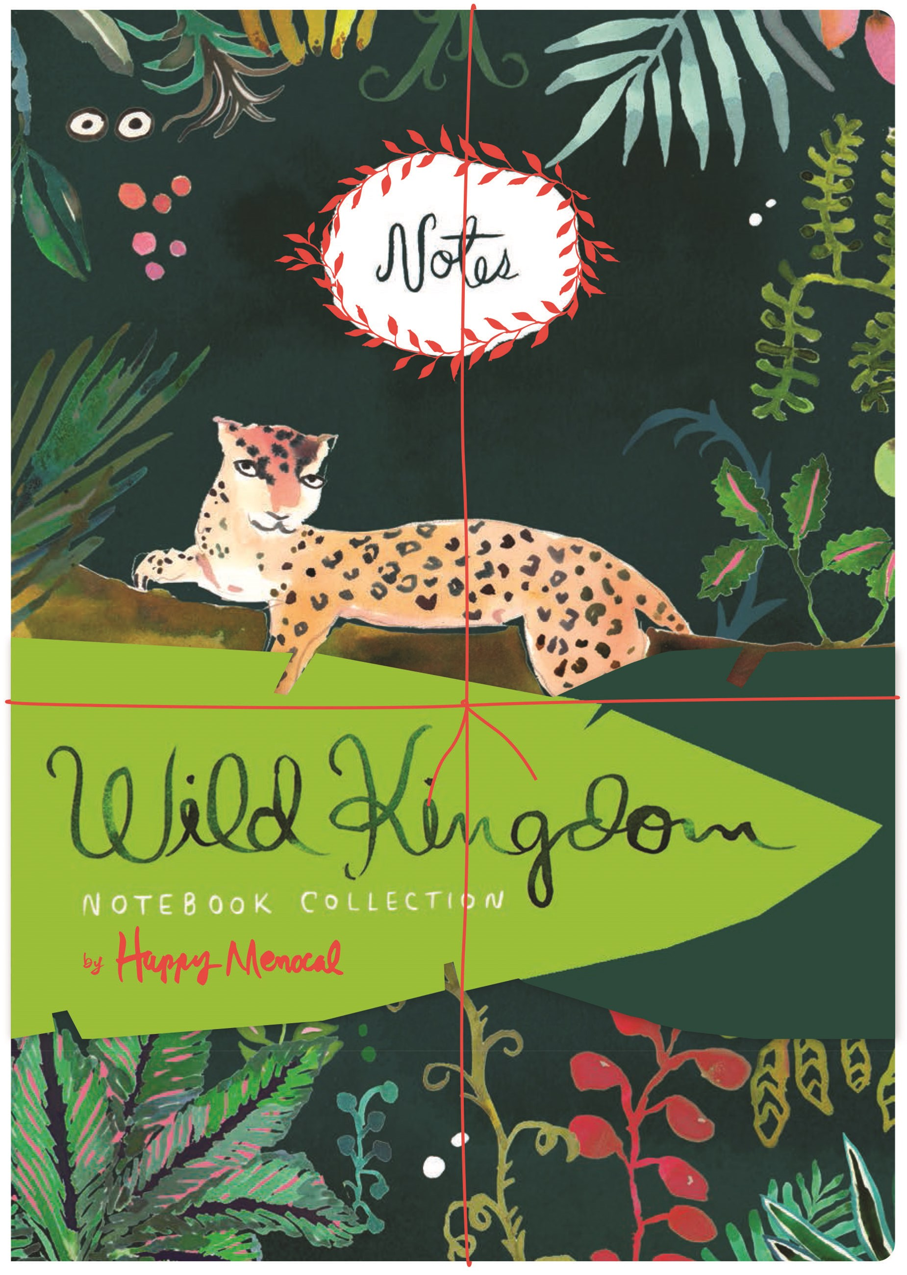 Wild Kingdom Notebook Collection
