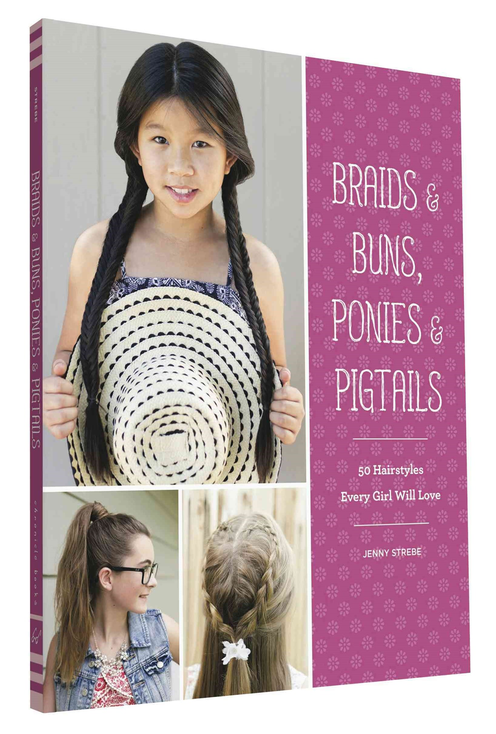 Braids, Buns, and Twists for Little Girls
