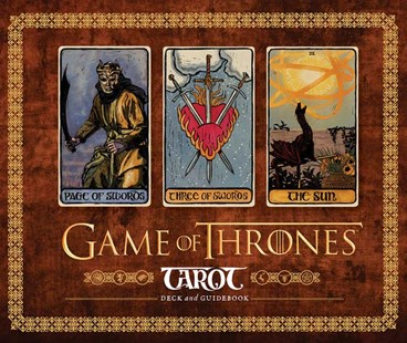 Games Of Thrones Tarot by  (9781452164342) - Game - Entertainment Film Writing