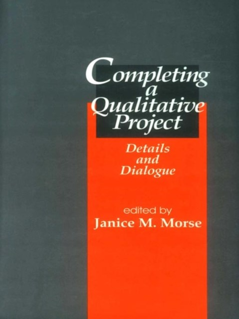 Completing a Qualitative Project