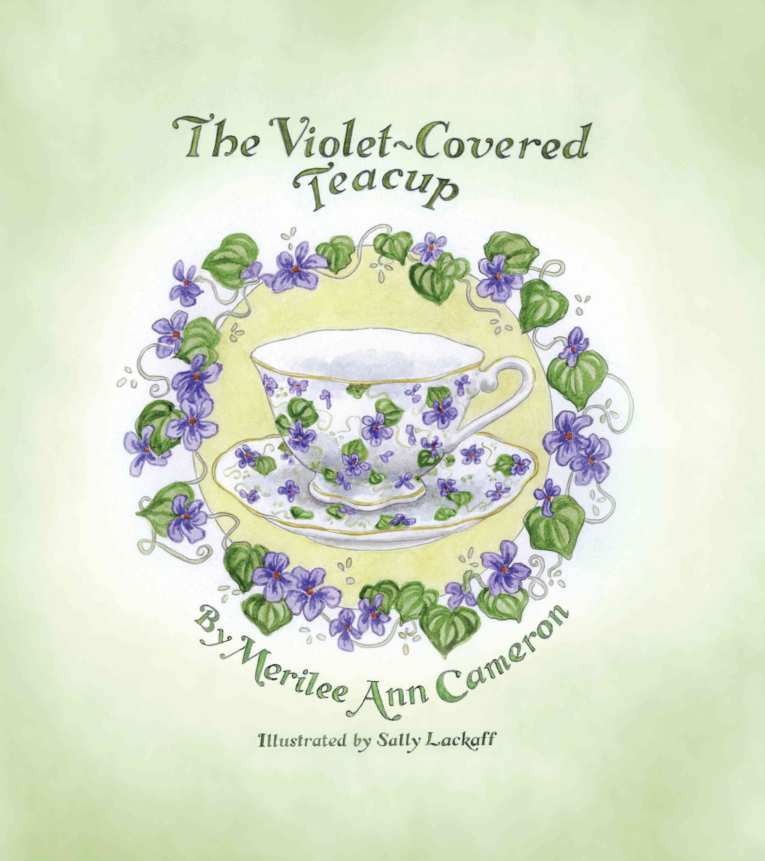 The Violet-Covered Teacup