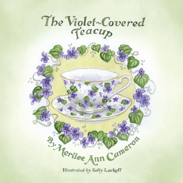 Violet-Covered Teacup
