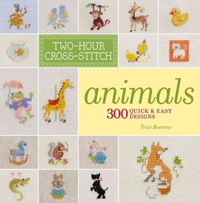 Two-Hour Cross-Stitch: Animals