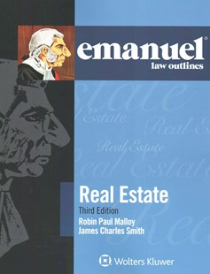 Emanuel Law Outlines - Real Estate by Robin Paul Malloy (9781454832799) - PaperBack - Business & Finance Real Estate
