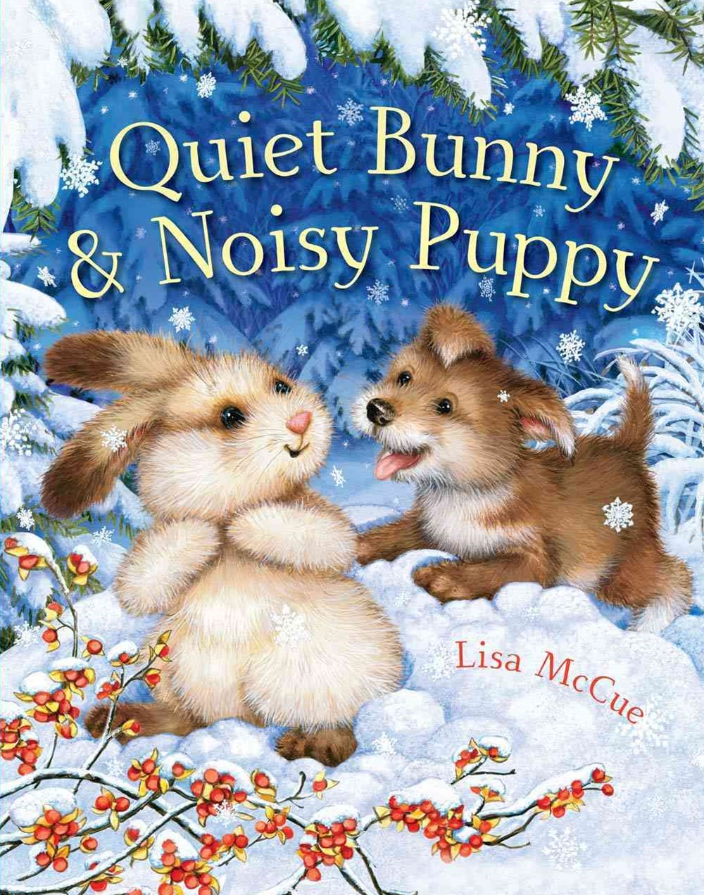 Quiet Bunny and Noisy Puppy