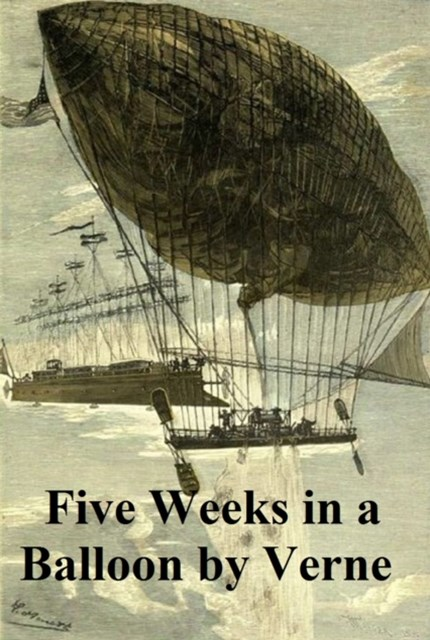 (ebook) Five Weeks in a Balloon