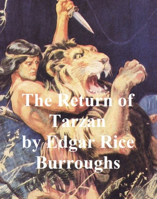 (ebook) Return of Tarzan, Second Novel of the Tarzan Series