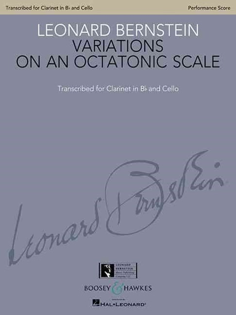 Variations on an Octatonic Scale - Transcribed for Clarinet and Cello