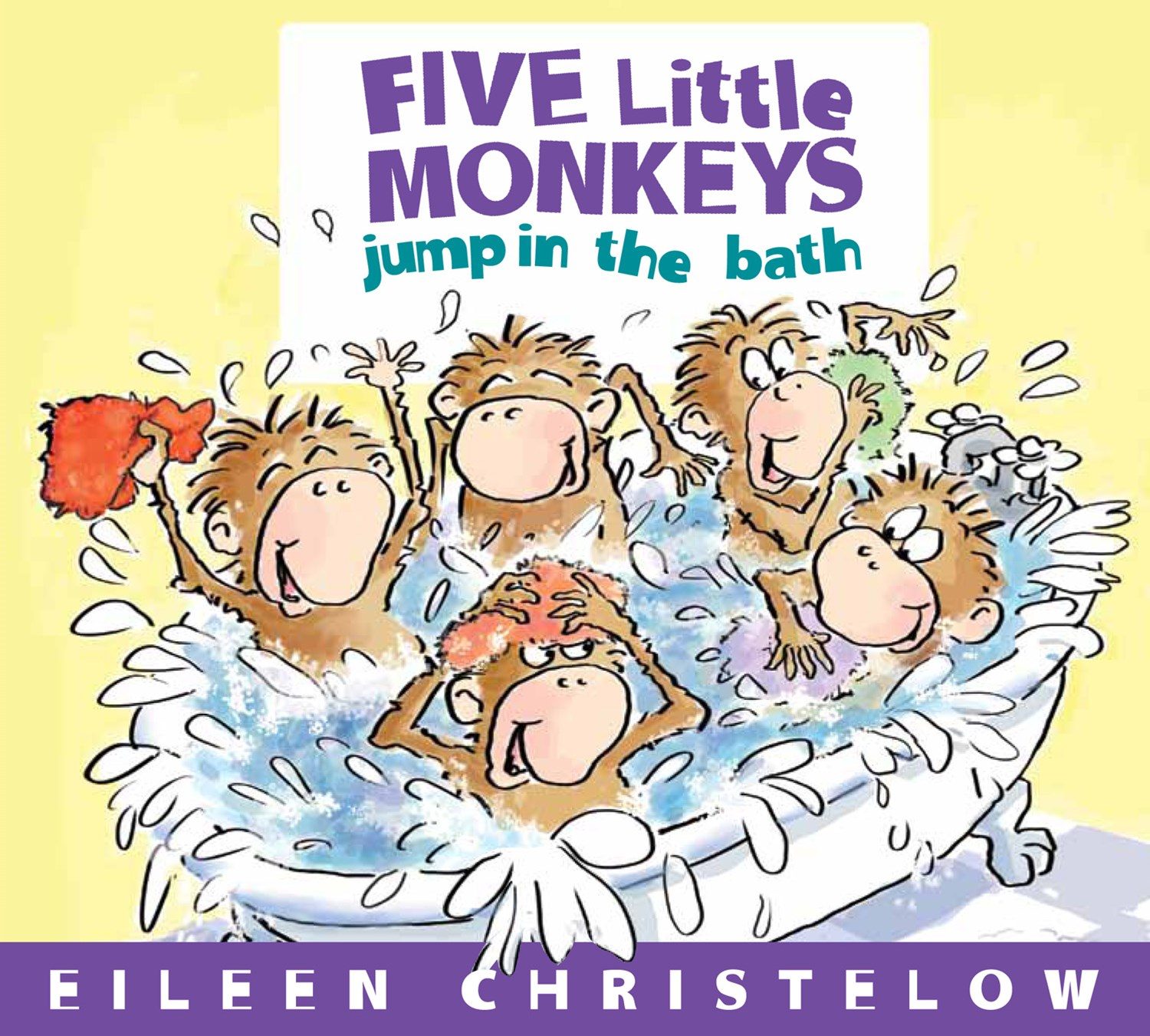 Five Little Monkeys Jump into the Bath