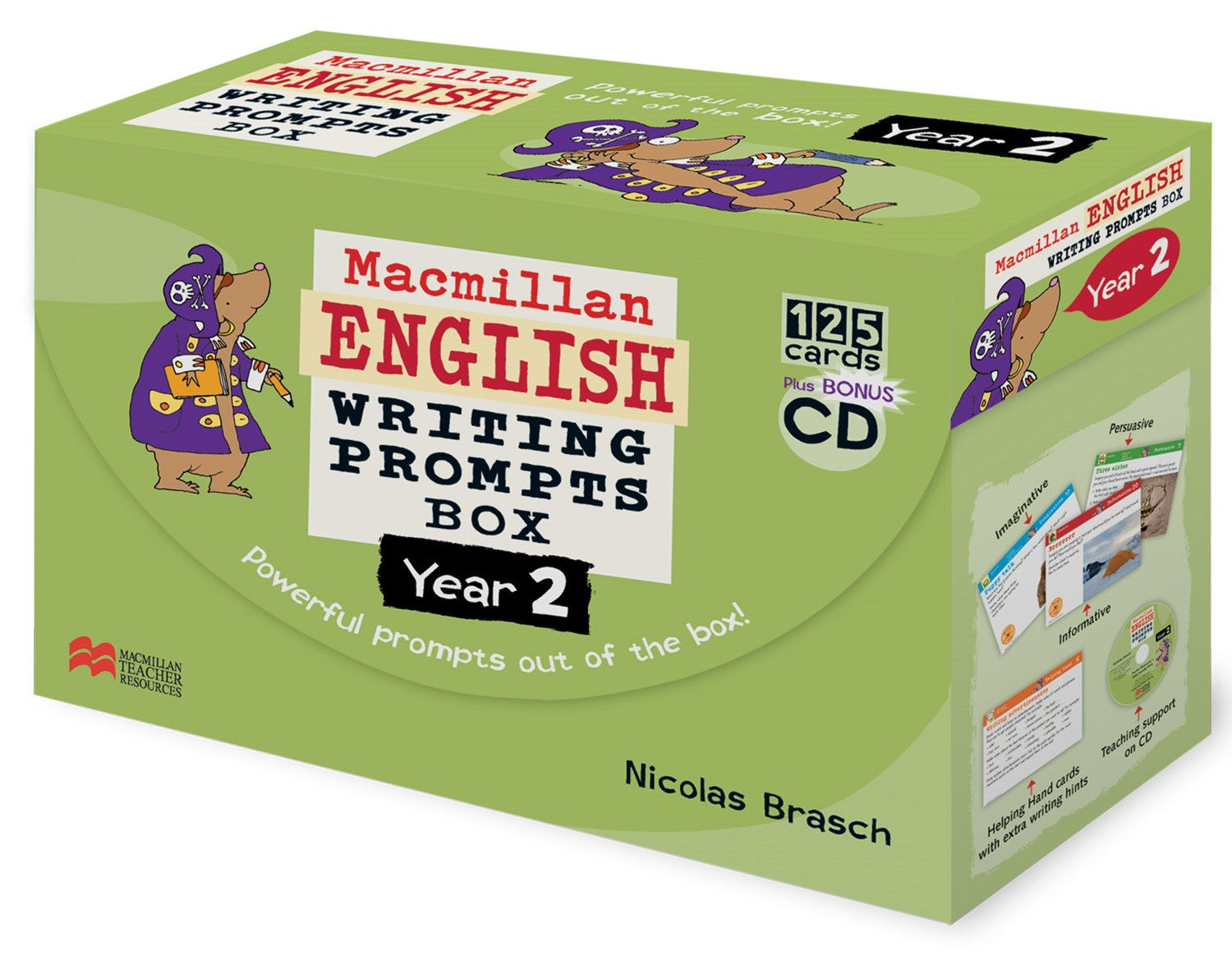 English Writing Prompts Box Y2