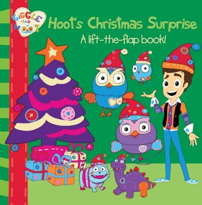 Hoot's Christmas Surprise: A lift-the-flap book!