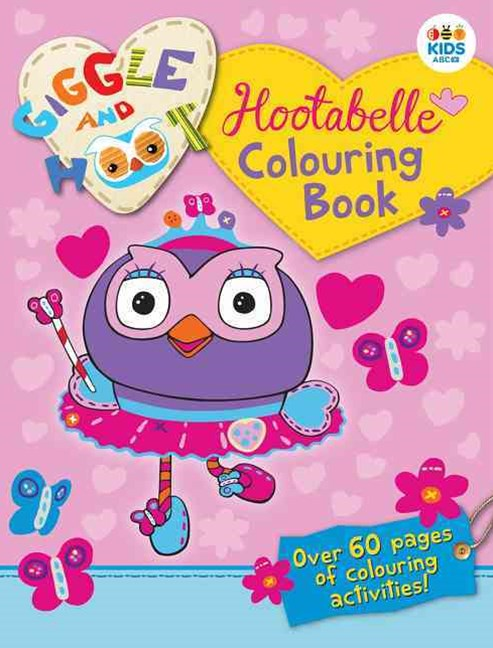 Hootabelle Colouring Book (new edition)
