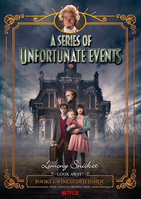 A Series of Unfortunate Events #1-9 Netflix Tie-in Box Set
