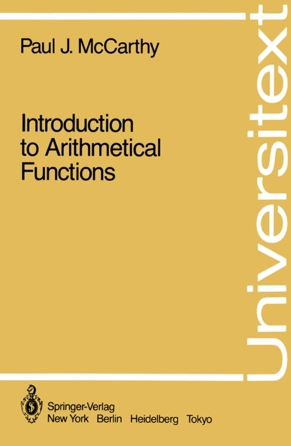 Introduction to Arithmetical Functions