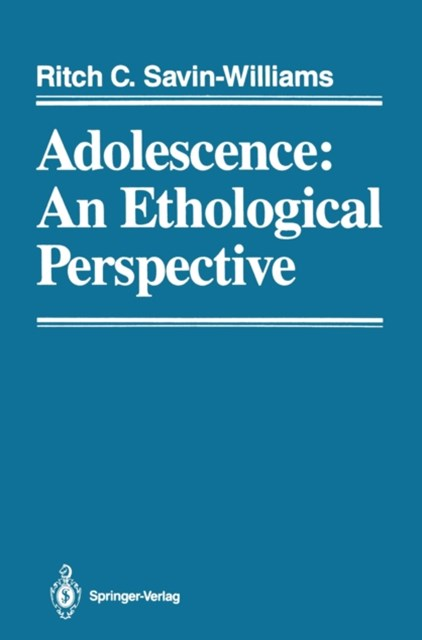 (ebook) Adolescence: An Ethological Perspective