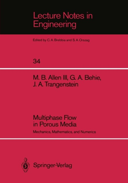 Multiphase Flow in Porous Media