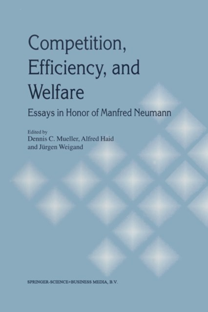 (ebook) Competition, Efficiency, and Welfare