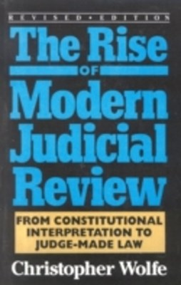 (ebook) Rise of Modern Judicial Review